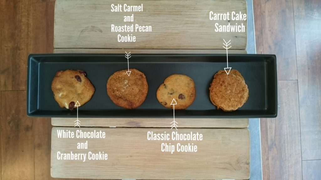 Cookies and Coffee pairing at the Dublin Cookie Co